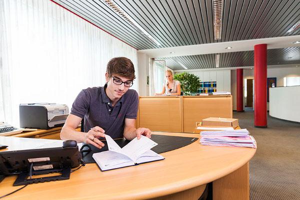 Eingangsbereich / Willkommen bei Baugenossenschaft SVEA